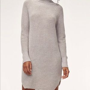 Bianca dress from Aritzia in grey colour